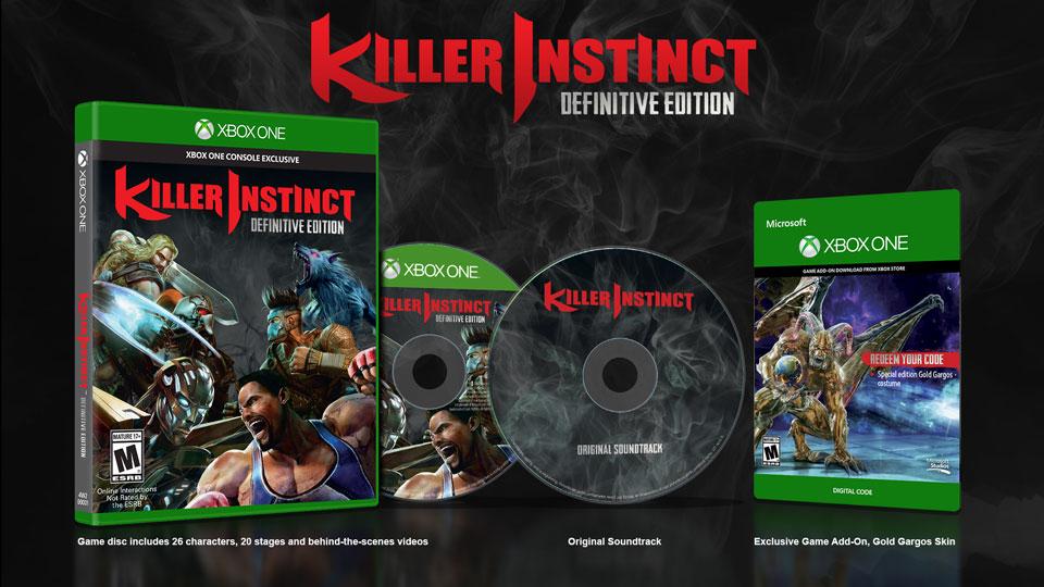 Killer Instinct pone de largo su Edición Definitiva con todos los DLC