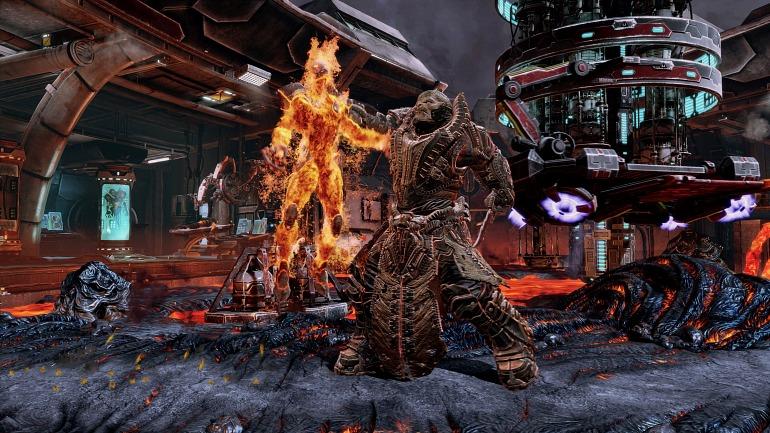 Raam de Gears of War ha sido la última incorporación al plantel de luchadores.