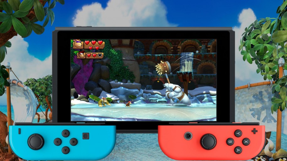 DKC Tropical Freeze: Jugamos Donkey Kong Country: Tropical Freeze en Nintendo Switch