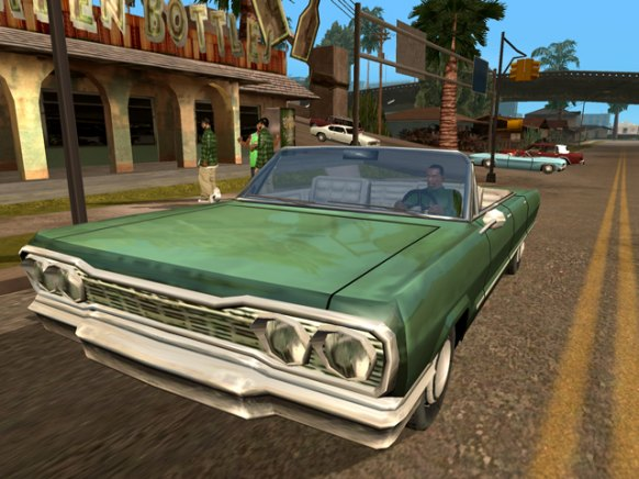 GTA San Andreas an�lisis