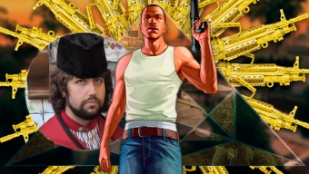 GTA San Andreas y la parodia a medias: ¡Qué horror la violencia! Ten un arma