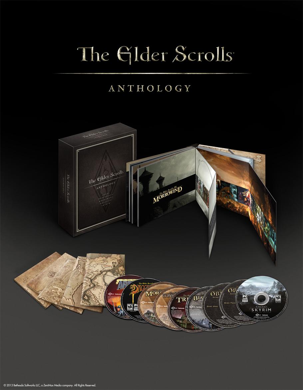 The Elders Scrolls Anthology traerá toda la historia de la serie a PC