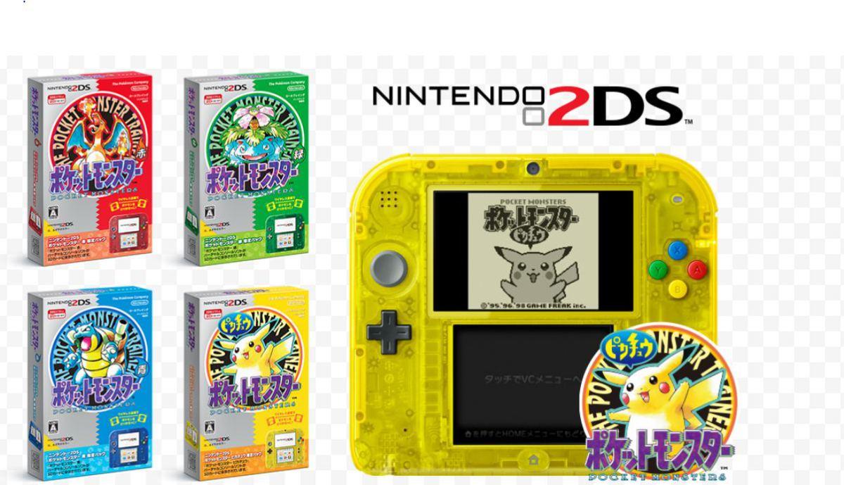 Nintendo 2ds Debutara En Japon Con Una Edicion Especial De Pokemon