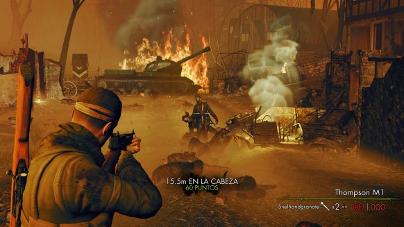 Sniper Elite Nazi Zombie Army 2 análisis
