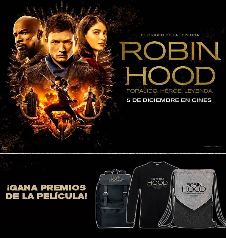 Sorteamos 5 Packs de la película Robin Hood