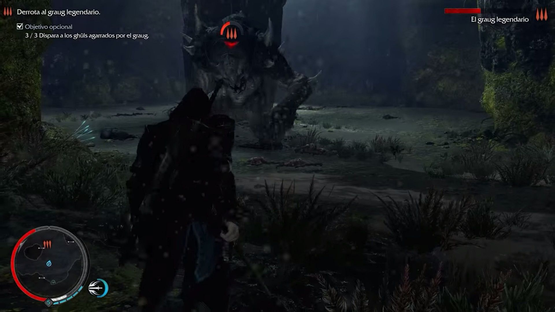 shadow of mordor how to kill a graug