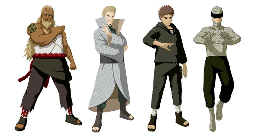 Naruto shippuden ultimate ninja storm revolution presenta for Cuarto kazekage muerte