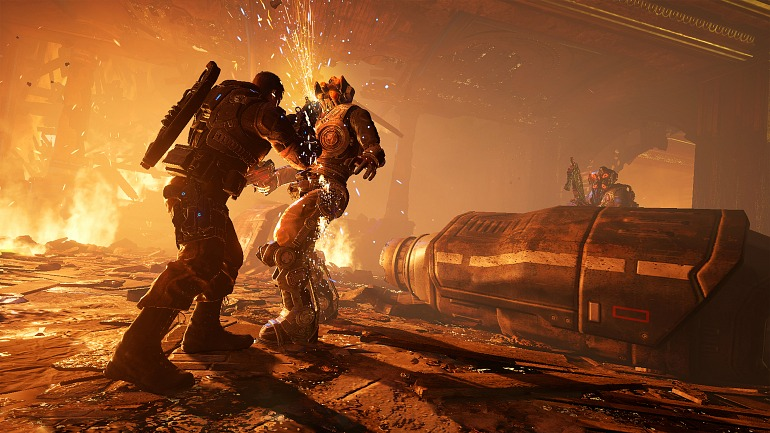 Gears of War 4, de The Coalition, se estrenó a finales de 2016.