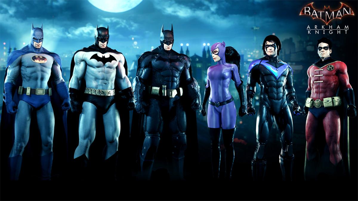 Batman se vestirá en Arkham Knight con el traje de la película de Tim Burton en agosto