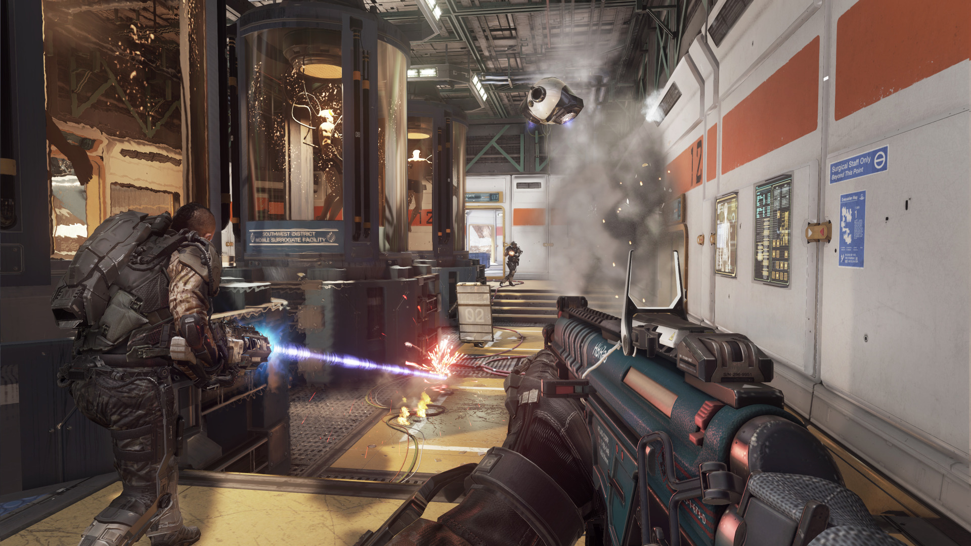Call Of Duty Advanced Warfare Tendra Multijugador A Pantalla