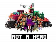 Carátula de Not a Hero - Super Snazzy Edition - Nintendo Switch