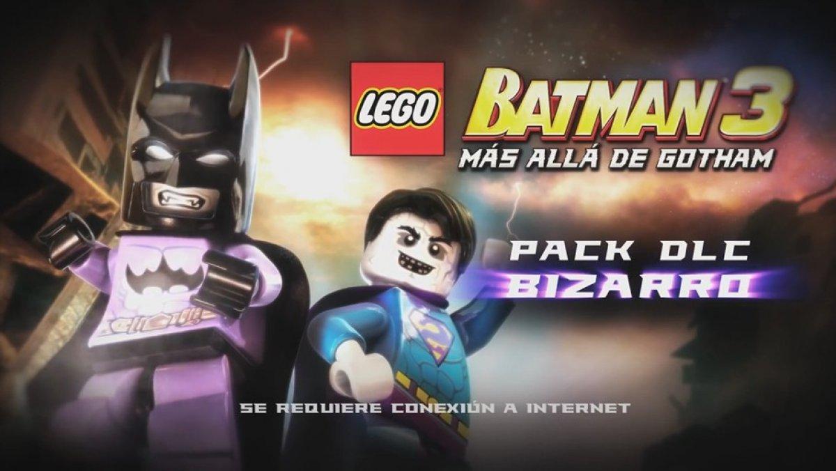 Lego Batman 3 Mundo Bizarro Dlc