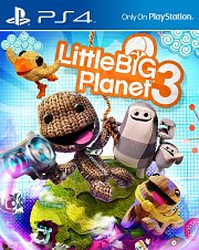 Carátula de LittleBigPlanet 3 - PS4