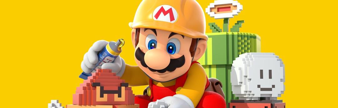 Super Mario Maker - 5 razones para apuntarse a la academia