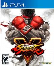 Carátula de Street Fighter V - PS4