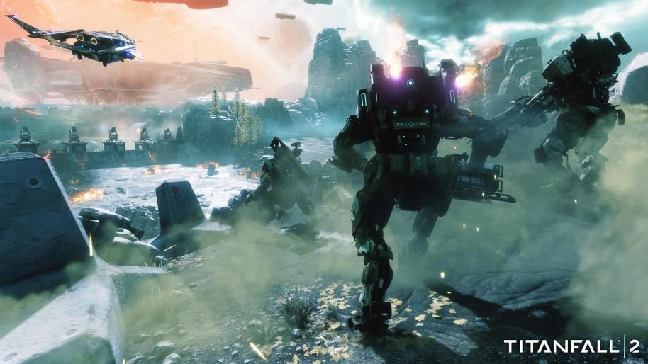 Titanfall 2: Titanfall 2: Multijugador, titanes y acción