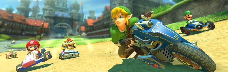 Análisis Mario Kart 8 - The Legend of Zelda
