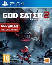 Carátula de God Eater 2: Rage Burst - PS4