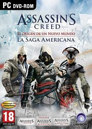 Carátula de Assassin's Creed: The American Saga - PC