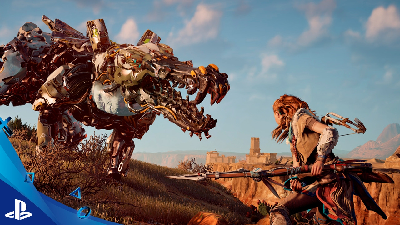 Horizon Zero Dawn- Lanza