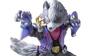 Primera imagen del amiibo de Wolf para Super Smash Bros Ultimate