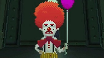 Video Thimbleweed Park, Ransome the Clown