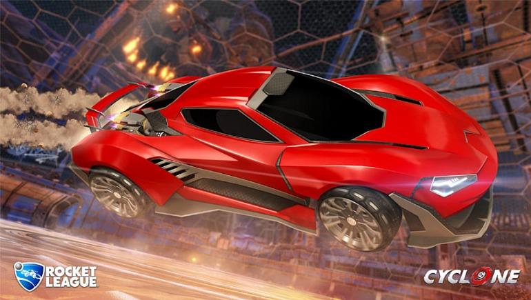 El nuevo carro de Rocket League: Cyclone
