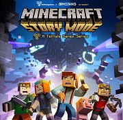 Carátula de Minecraft: Story Mode - PS3