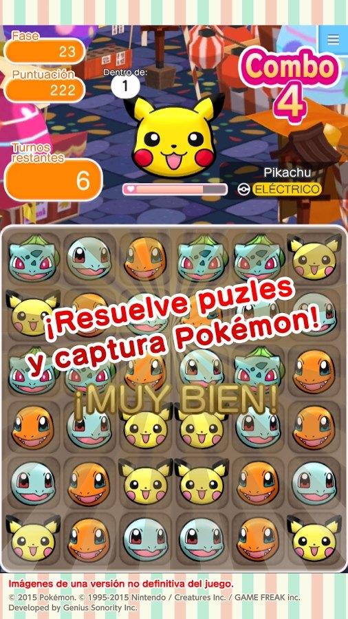 Pokémon Shuffle Mobile análisis