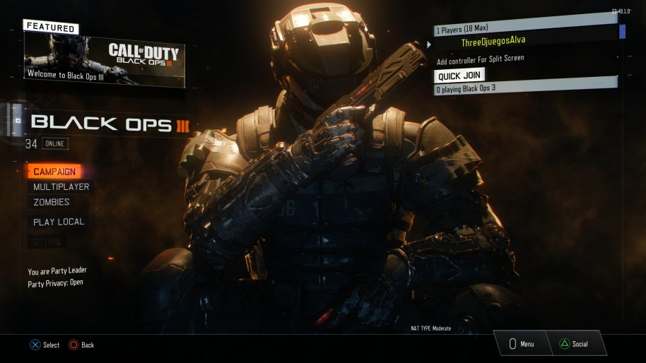 Call of Duty Black Ops 3 análisis