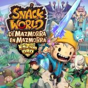 Carátula de Snack World: De Mazmorra en Mazmorra - Edición de Oro - Nintendo Switch