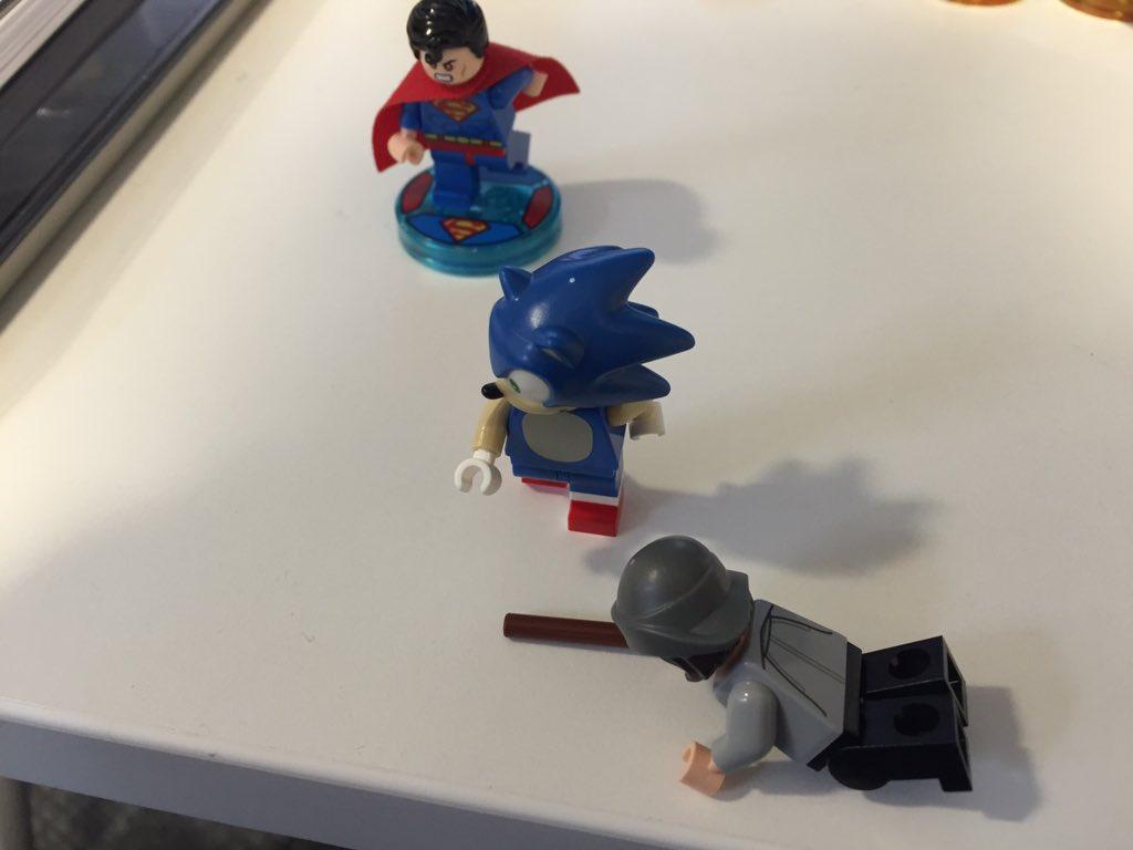 ¡Así es la figura Lego de Sonic en Lego Dimensions!