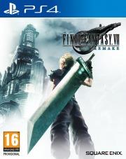 Carátula de Final Fantasy VII Remake - PS4