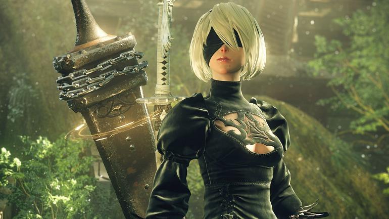 NieR: Automata. Título distribuido por Square Enix