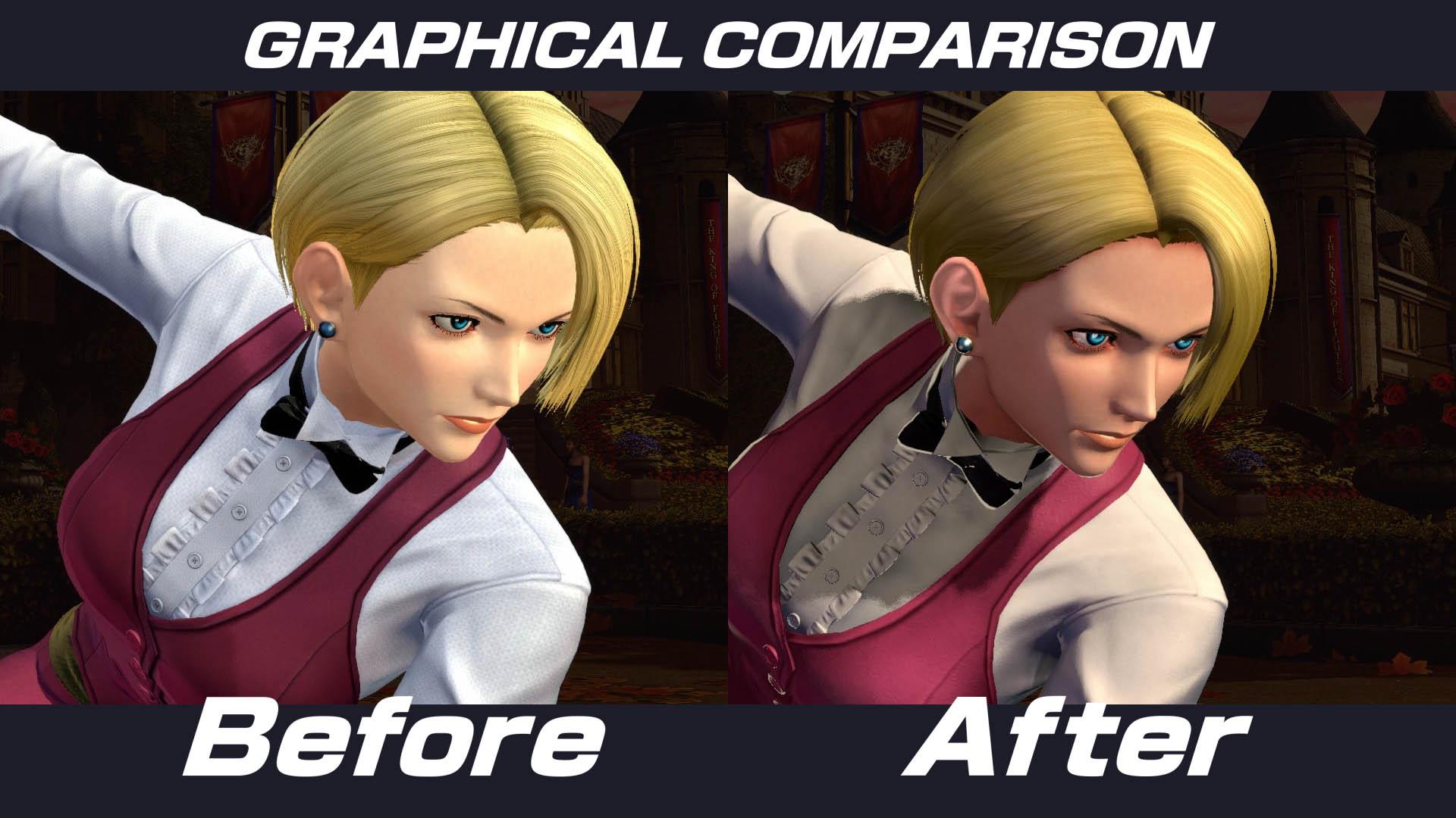 The King of Fighters XIV mejora su apartado visual con un nuevo parche