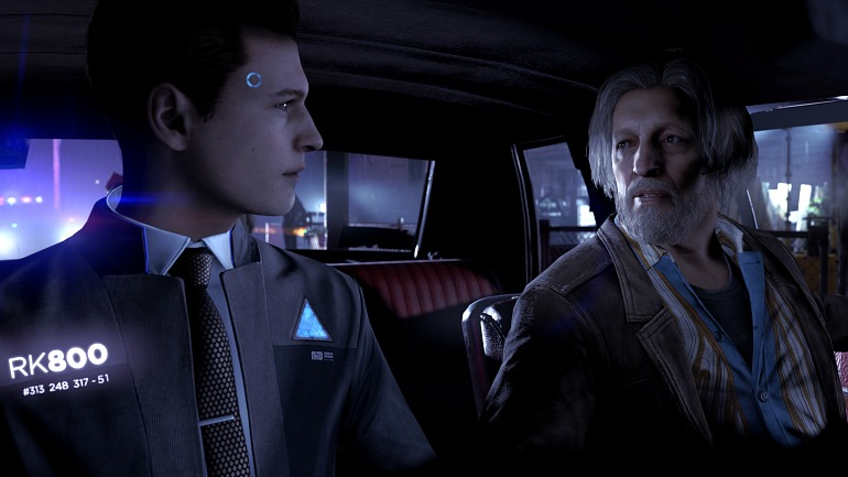 Detroit: Become Human.