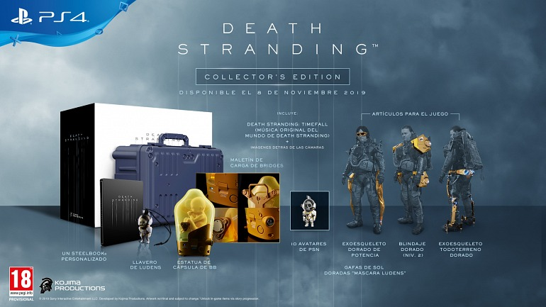 Death Stranding - Edición de Coleccionista