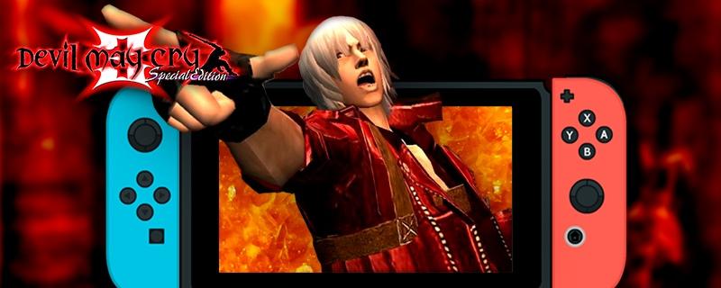 ¿El mejor Devil May Cry? El gran DMC3 regresa en una edición especial para Nintendo Switch.