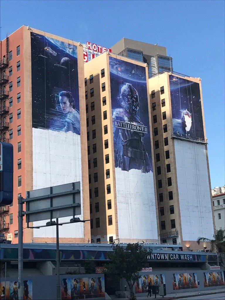Los Ángeles se viste de E3: Star Wars Battlefront 2 copa el Hotel Figueroa