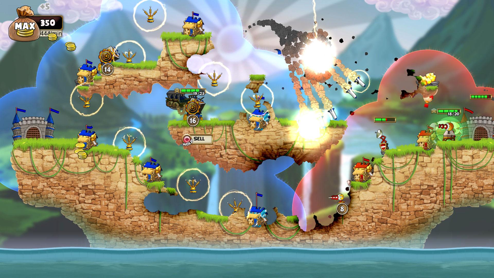 Cannon Brawl Un Juego De Estrategia En Tiempo Real Llega A Xbox