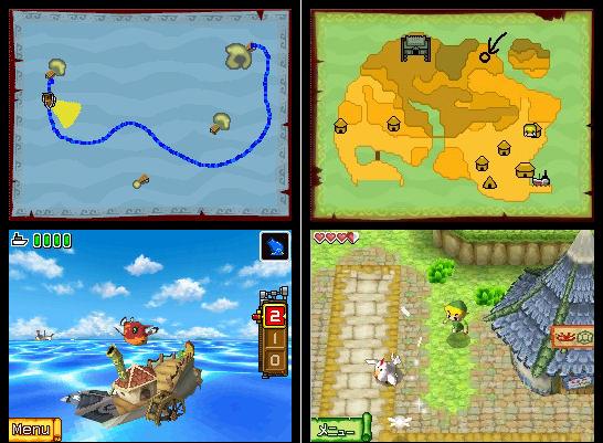 Zelda Phantom Hourglass - Impresiones jugables