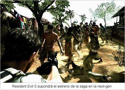 Resident Evil 5: fecha límite de lanzamiento el 31 de marzo