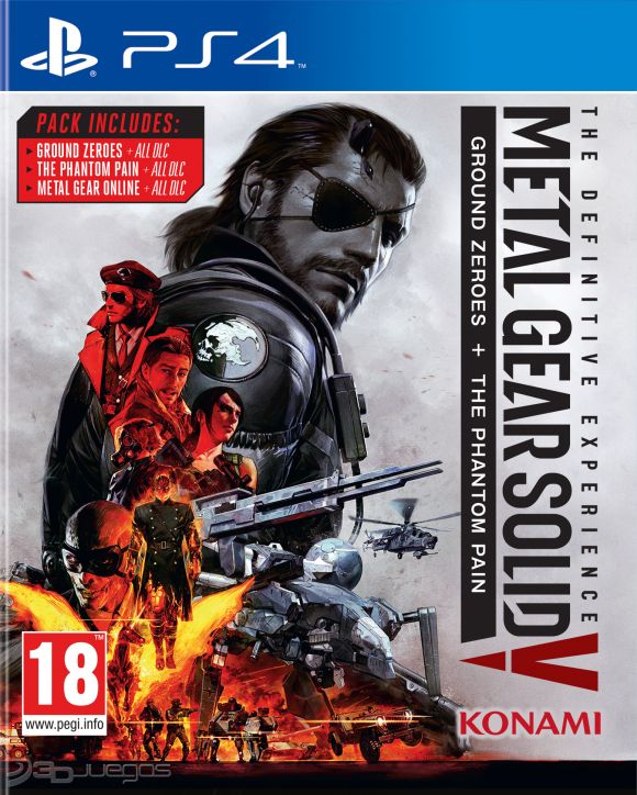 metal gear solid 5 the definitive experience firmware