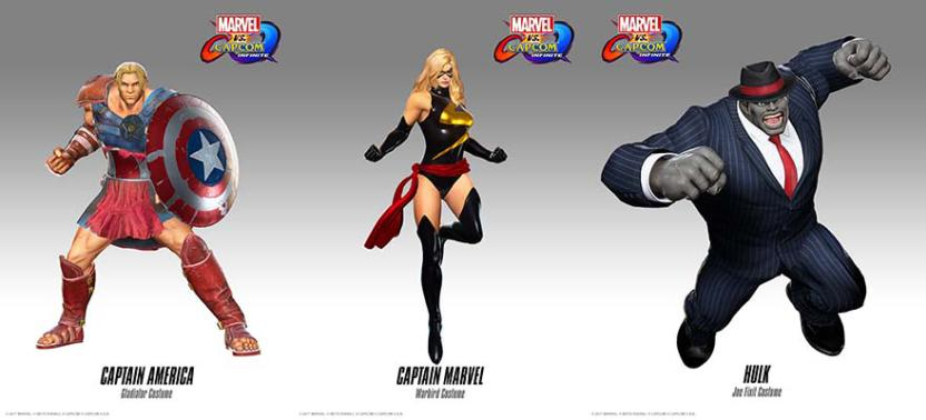 ¡Nuevos trajes! Dante de DmC luchará en Marvel VS. Capcom Infinite