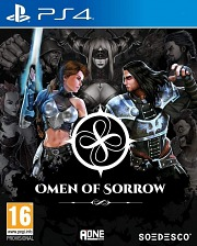 Carátula de Omen of Sorrow - PS4