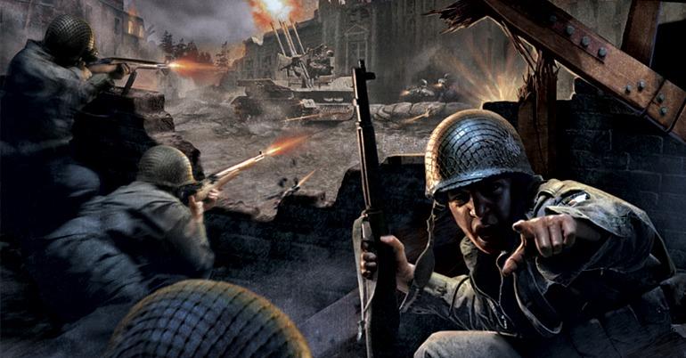 Imagen de portada del clásico Call of Duty.