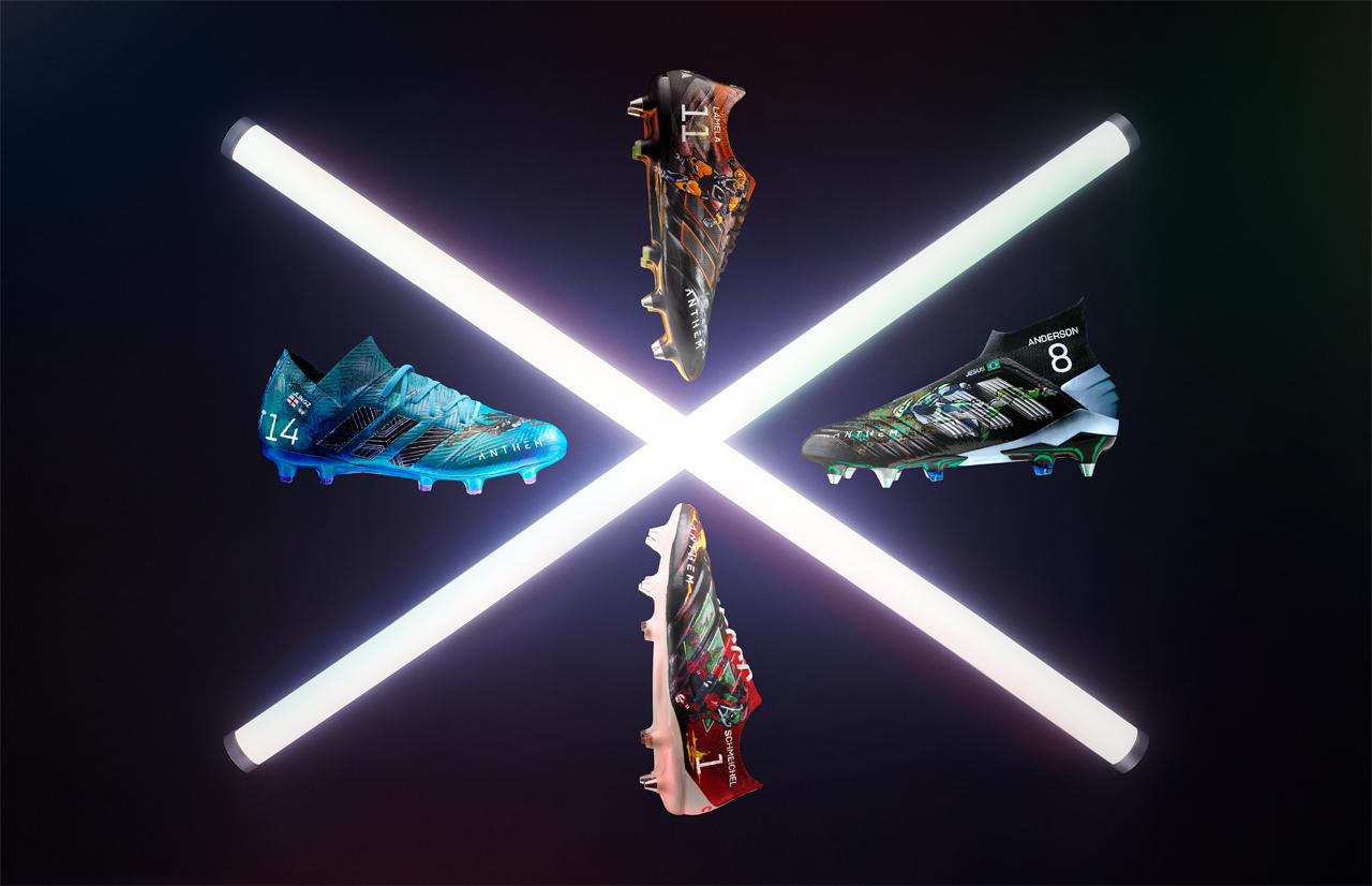 Anthem: los futbolistas de la Premier League vestirán botas de Alabardas