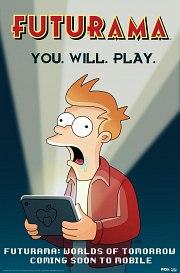Carátula de Futurama: Worlds of Tomorrow - Android