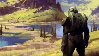Halo Infinite presenta la portada de su libro de arte diseñada por un artista veterano de la saga