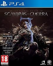 Carátula de La Tierra Media: Sombras de Guerra - PS4
